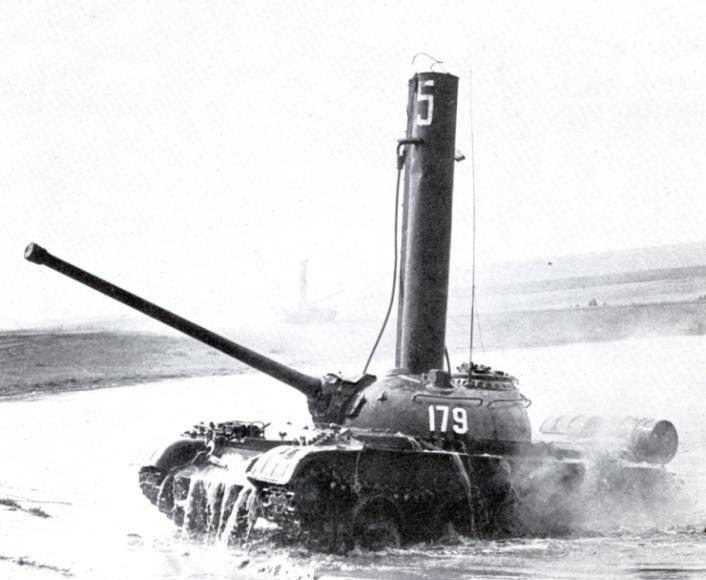 t-54AR guado fording depth
