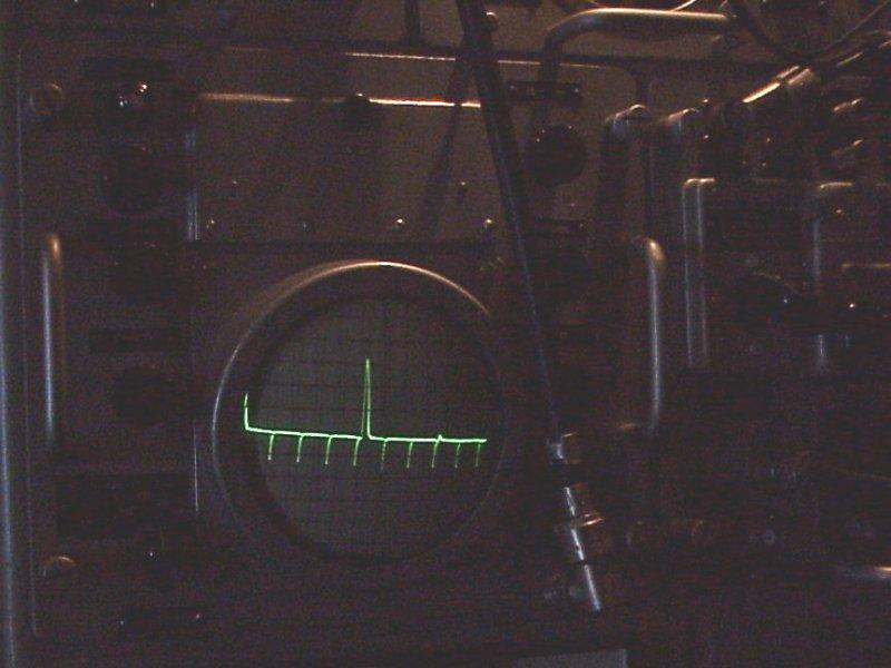 modulazione di deflessione A radar guerra elettronica