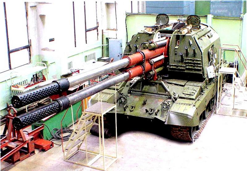 2S35 2S19 koalitsiya howitzer self-propelled semovente artiglieria obice