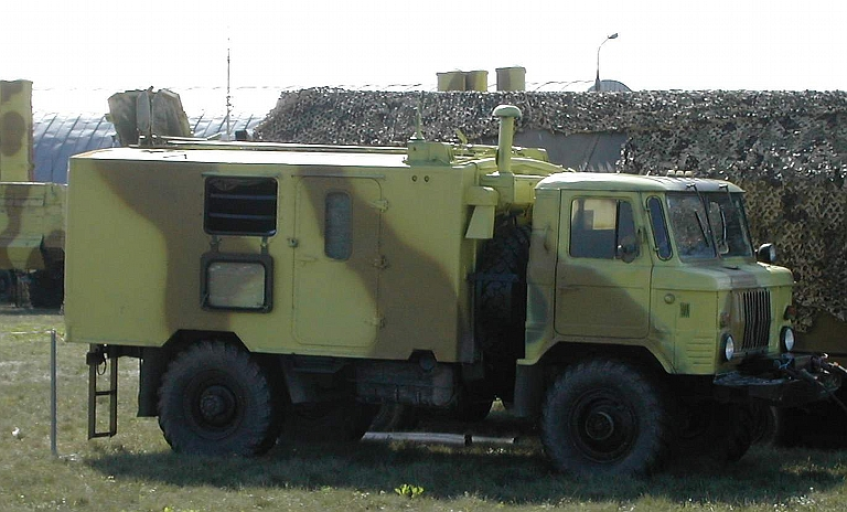 Almaz 1T12 Site Survey Vehicle