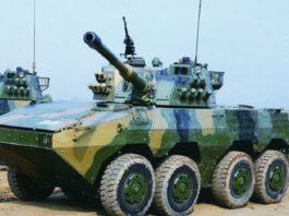 ZTL-11 Gibuti Cina esercito Cinese blindato