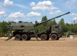 obice semovente 2S35-1 Koalitsiya-SV-KSh