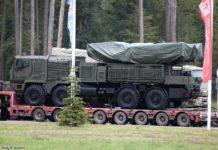 pantsir-sm trasporto russia defense missile system
