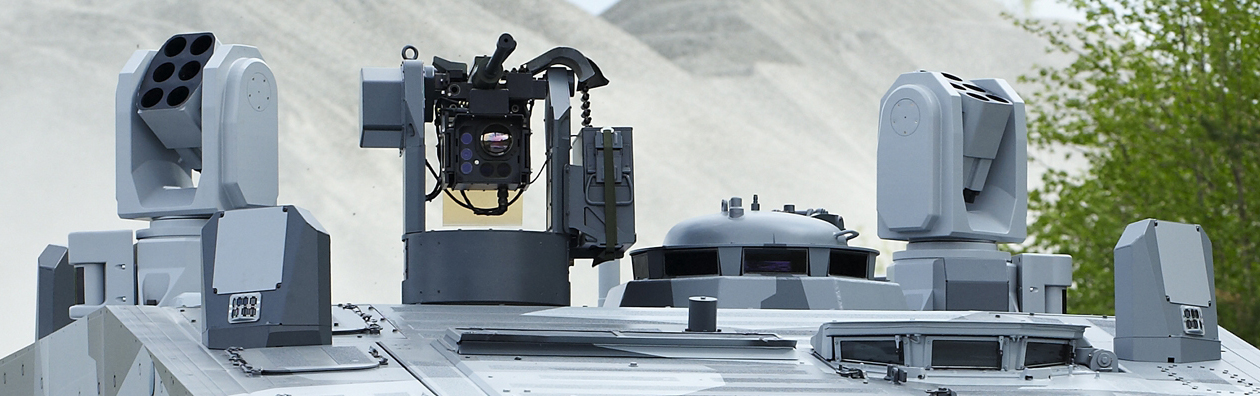 cv90 armadillo equipaggiato con aps leds-150