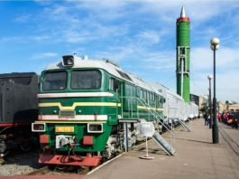 RS-23 Scalpel treno russo ICBM