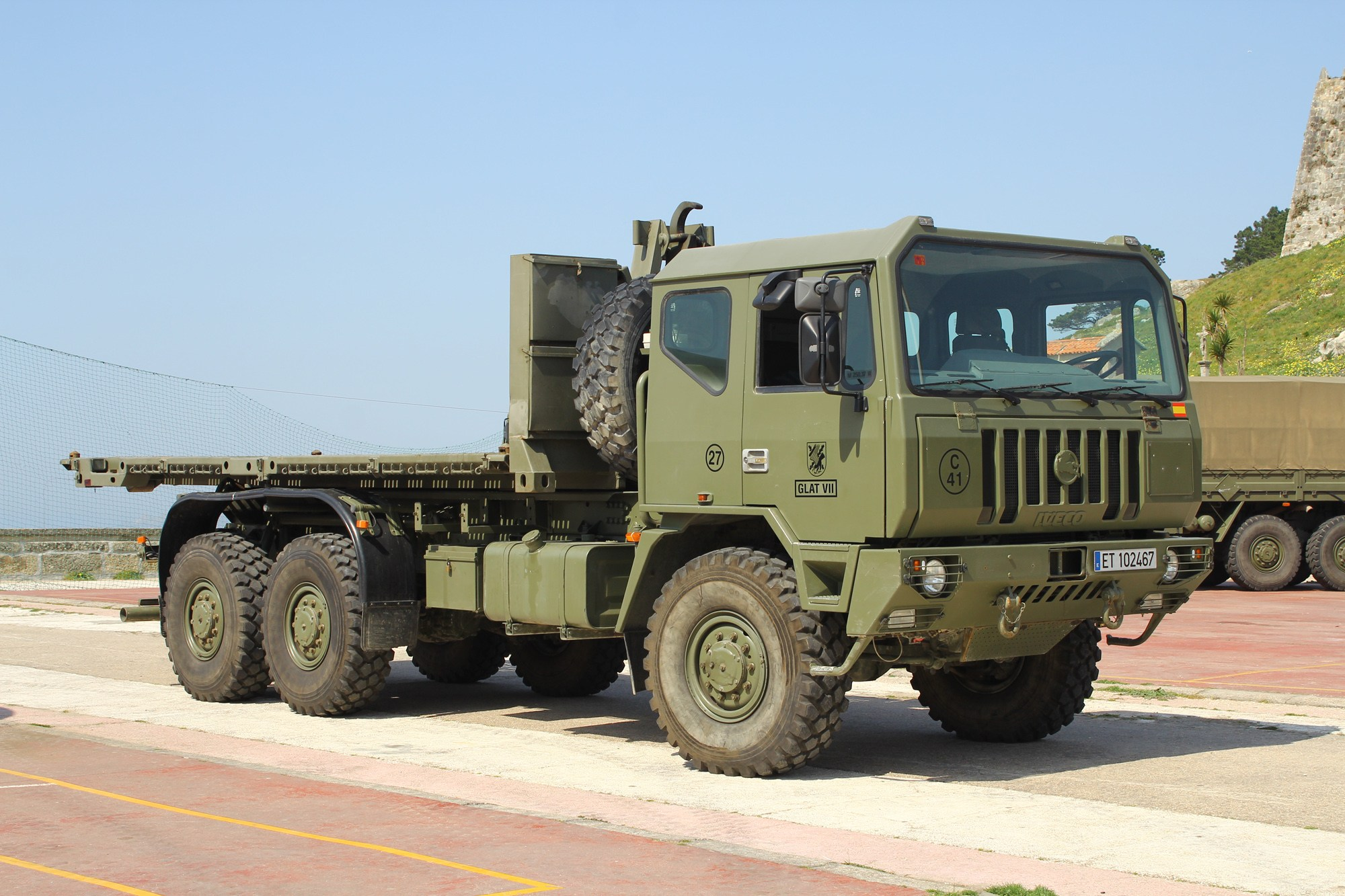 iveco defence vehicles mezzo romeno 6x6