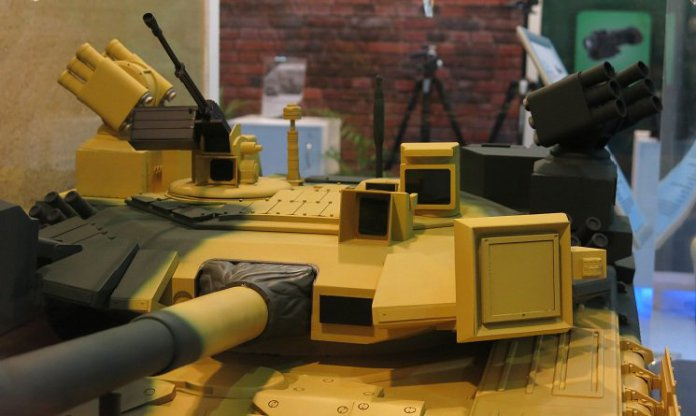 saab e tata equipaggiano un T-90 con il sistema APS LEDS 150