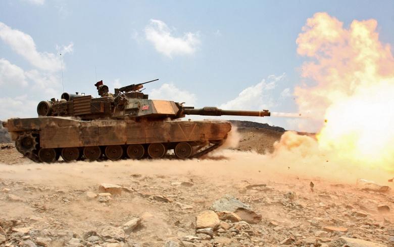 m-1 tank abrams