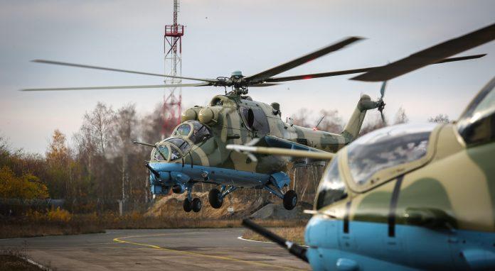 mi-24 senegal revisione volo polonia