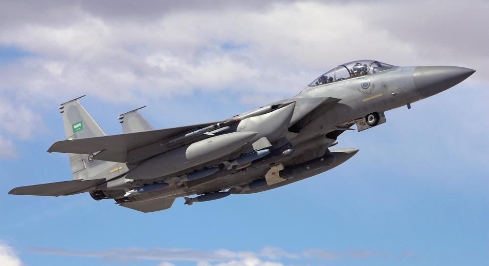 f-15s dell'arabia saudita
