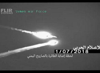 Possibile abbattimento di un F-15 saudita in yemen da parte degli houthi