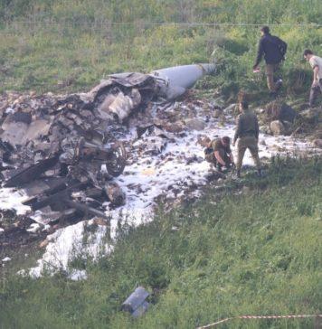 f-16 israeliano abbattuto nei pressi di Damasco durante operazioni di bombardamento